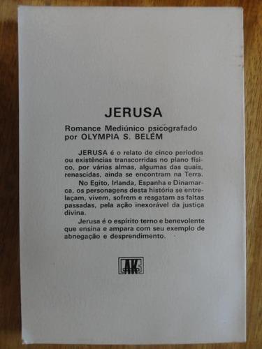 jerusa - romance mediúnico