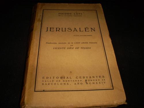 jerusalén / pierre loti