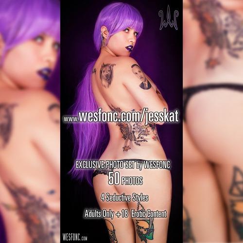 jess kat set exclusivo privado 50 fotografías erotica +18