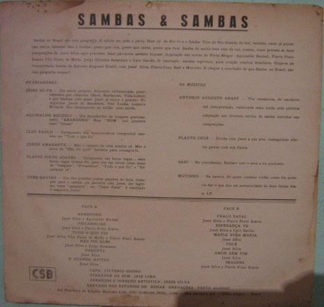 jessé silva - sambas & sambas
