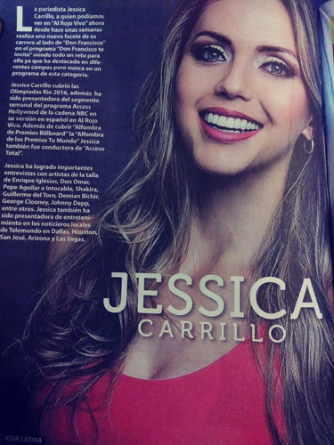 jessica carrillo revista vida latina