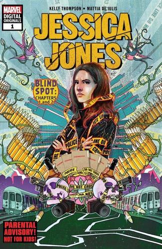 jessica jones: blind spot | comic completo | digital
