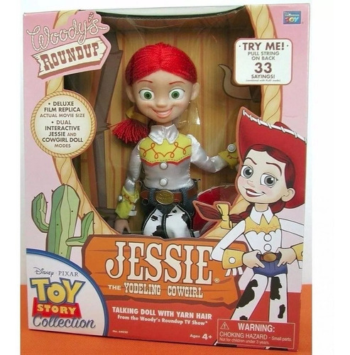 jessie muñeca toy story signature collection 32 frase smile
