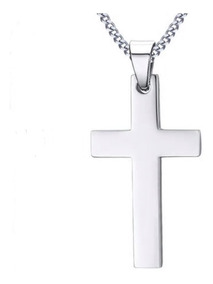 5108951afce6 Jesucristo Cruz Crucifijo Dije Cadena Acero Inox Unisex