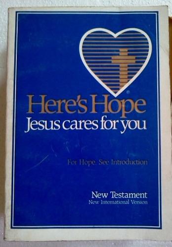 jesus cares for you new testament novo testamento em ingles