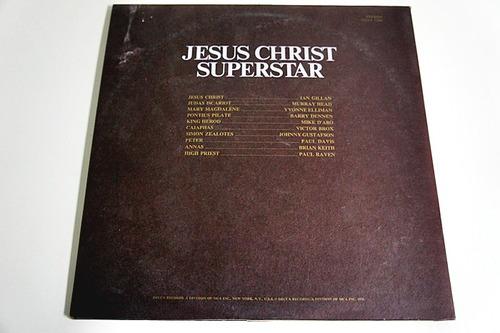 jesus christ superstar. vinil duplo. importado. novíssimo.