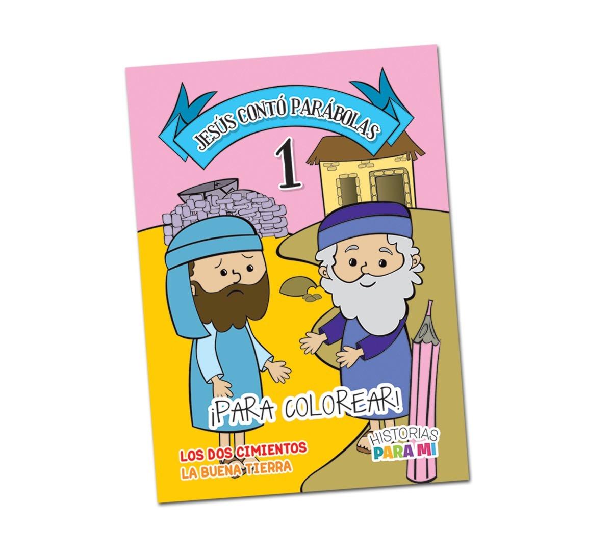 Jesús Contó Parábolas 1 · Para Colorear - $ 89,00 en Mercado Libre