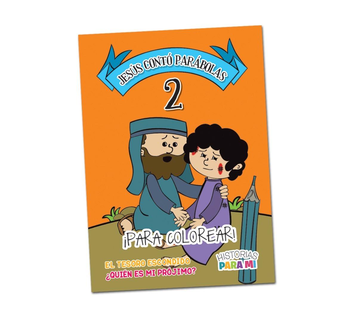 Jesús Contó Parábolas 2 · Para Colorear - $ 89,00 en Mercado Libre