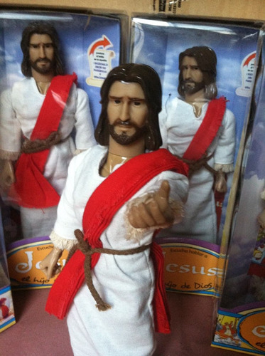 jesus hijo de dios figura articulada con sonidos