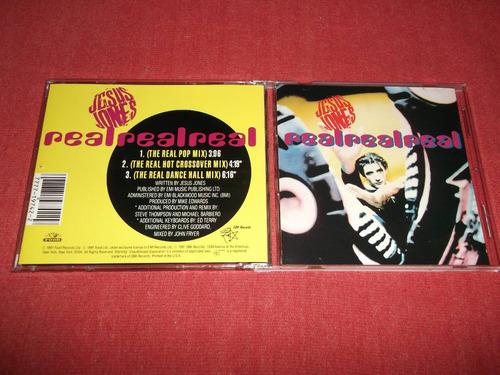 jesus jones - real real real cd ep usa ed 1991 mdisk