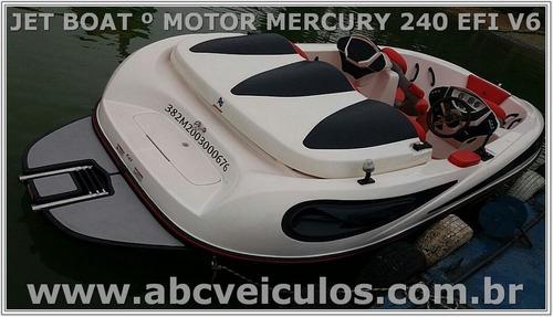 jet boat colunna - motor mercury 240 efi - v6 - montado 2015
