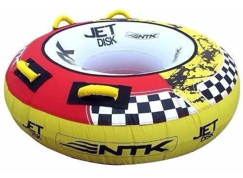 jet disk boia reboque inflável nautika modelo novo! + nf !