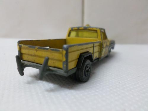 jet ford 350 n° 18 grua auxilio dual con sirena camioneta