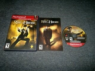 jet li rise to honor completo para play station 2,excelente