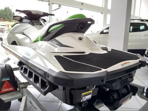 jet ski gti 130 2014 branca e verde gasolina