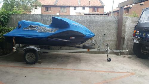 jet ski kawasaki 1500 ultra lx impecable con trailer y funda