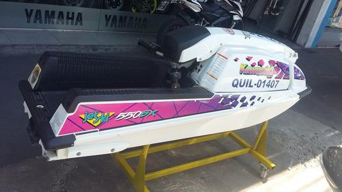 jet ski kawasaki 550 sx año 1998 + trailer  + cuna + ancla .