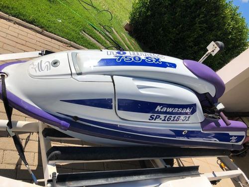 jet ski kawasaki sx750 original 1992