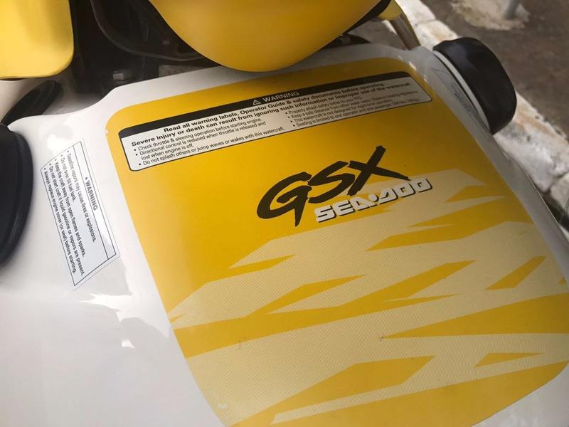 jet ski  sea-doo gsx rfi  2000 super novo só de agua doce