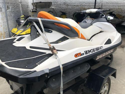 jet ski sea doo gti 130 - sucata para venda de peças - brp