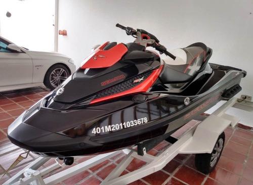 jet ski sea doo rxtx 2011 260hp 3 lugares  - 86 hrs