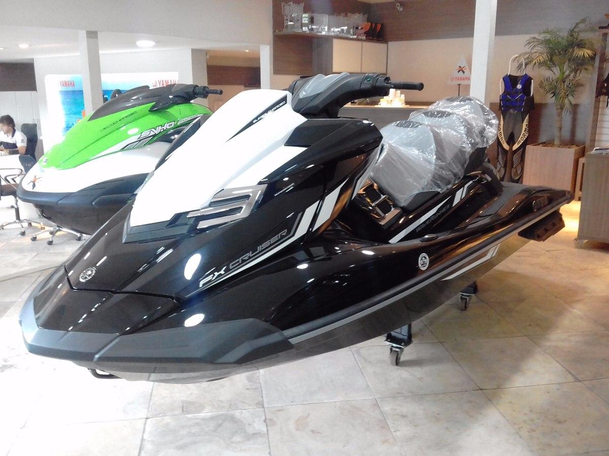 Jet ski yamaha fx cruiser svho 2017 lan amento ho rxt for Yamaha fx jet ski