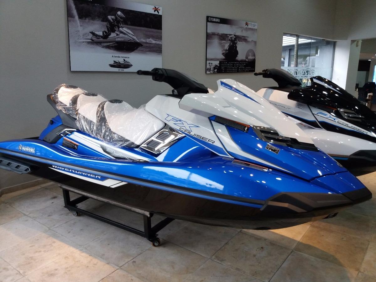 Jet ski yamaha fx cruiser svho 2018 lan amento ho rxt gtx for Yamaha jet skis