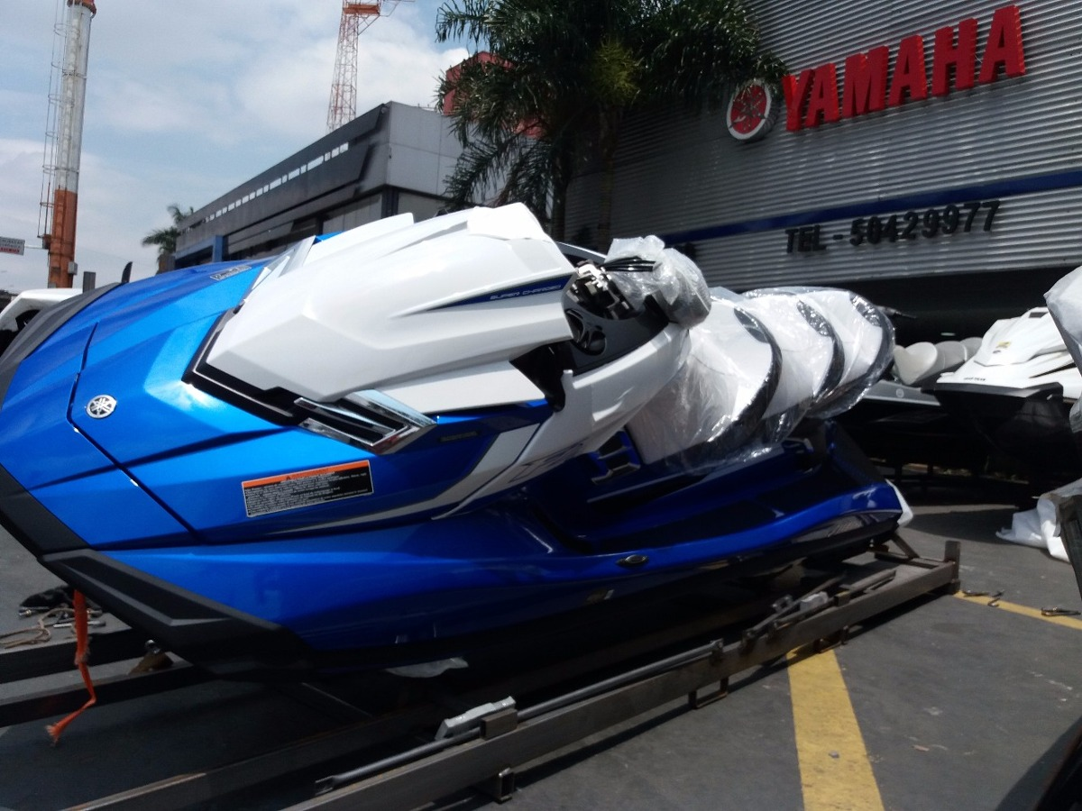 Jet ski yamaha fx cruiser svho 2018 lan amento ho rxt gtx for Yamaha cruiser 2018