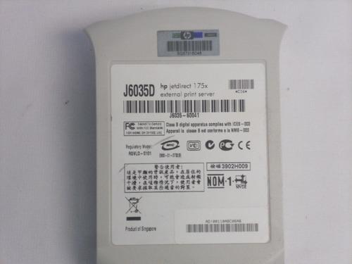 jetdirect 175x usb/network j6035d