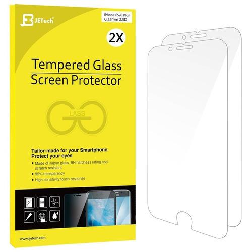 jetech protector de pantalla de vidrio temper + envio gratis