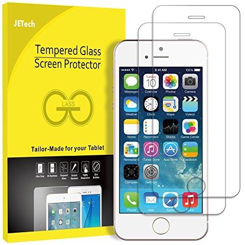 5b6947674ca Jetech Protector De Pantalla Para Apple iPhone Se 5s 5c 5 Pe ...