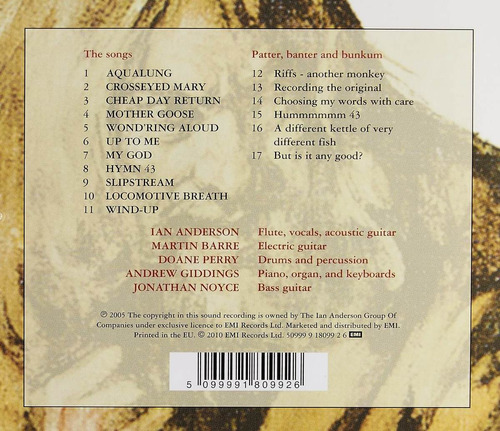jethro tull - aqualung live (2005)