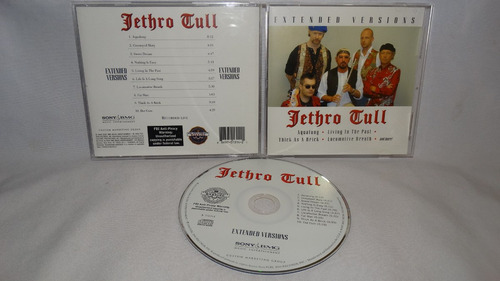 jethro tull - extended versions live