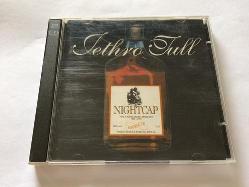 jethro tull - nightcap - cd importado duplo