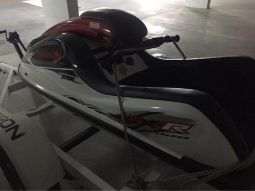 jetski kawasaki sxr 800 unico = a okm 10 hs de uso c/trailer