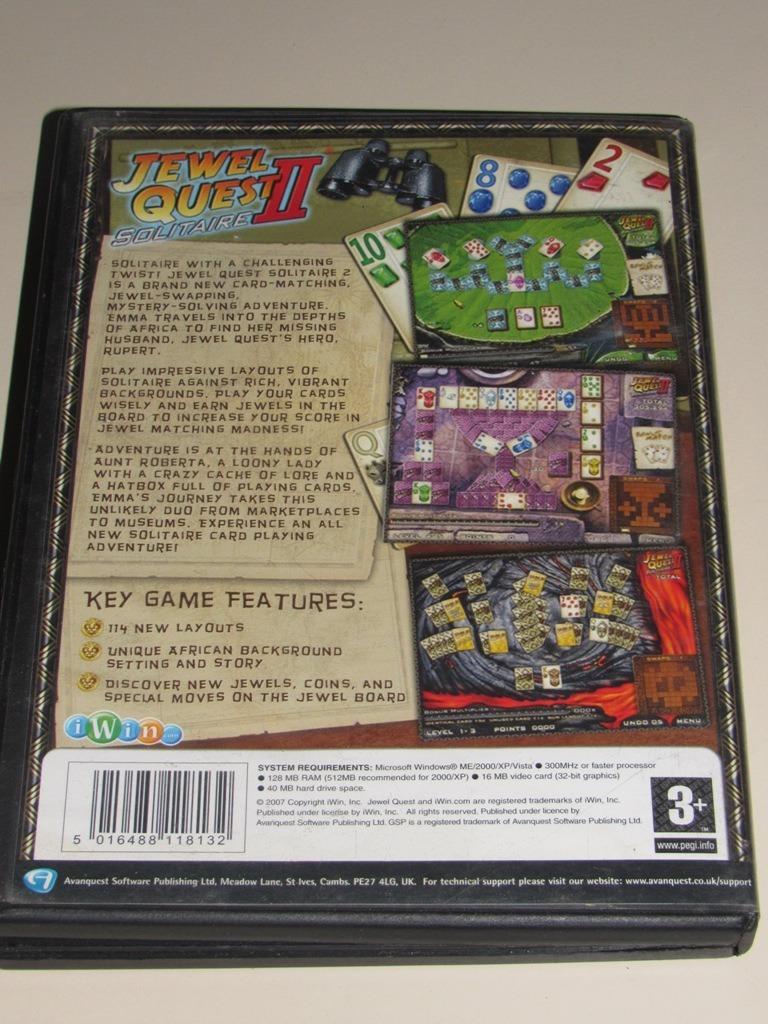 Jewel Quest 2 Solitario Pc Fisico - Bs  20 000,00