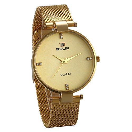 5c4de89d62ba Jewelrywe Pareja Relojes Pulsera De Pulsera De Reloj De Puls ...