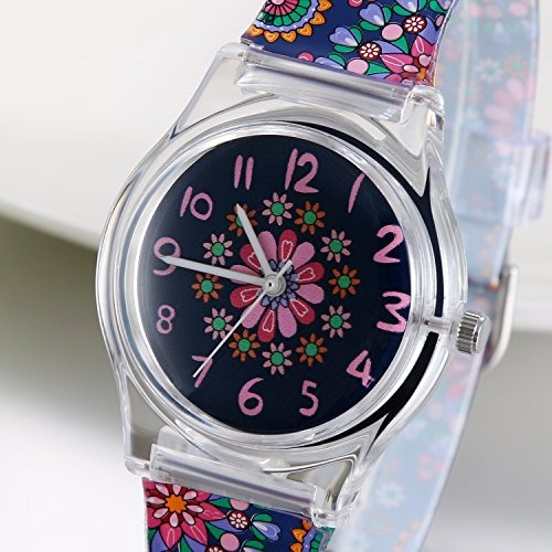 jewelrywe teenagers chicas jóvenes patrón  flor relojes  pul