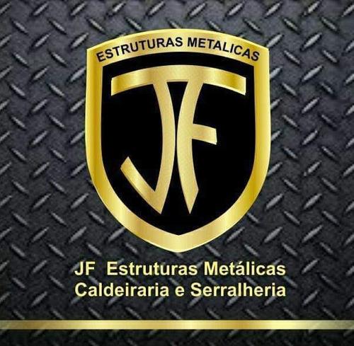 jf estrutura metálicas caldeiraria e serralheria