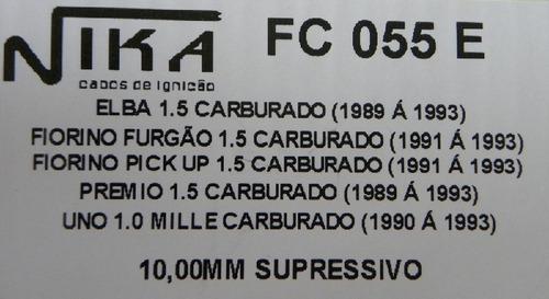 jg cabos de vela p/ premio/elba/ fiorino/ uno mille carburad