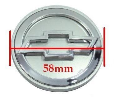 jg calota calotinha miolo prata roda 51mm gm cromado relevo