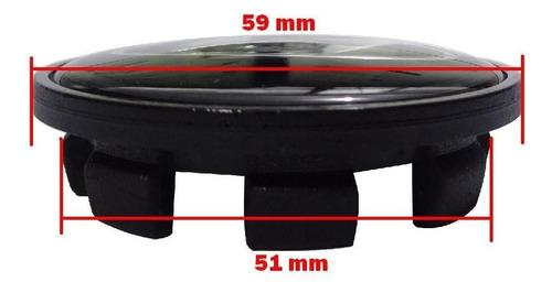 jg calota calotinha preta centro miolo roda hyndai i30 59mm