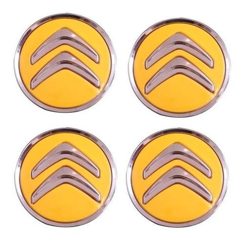 jg calota miolo roda citroen c3 c4 picasso air cross amarela