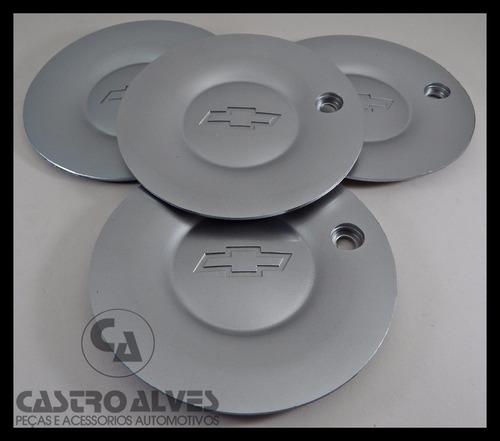 jg calota p/ roda original vectra gsi ventilador + parafusos