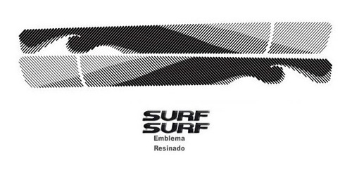 jg de faixa decorativa saveiro surf 2015 - preto 3m