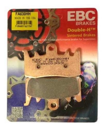 jg de pastilha freio ebc bmw 1200 2014 completo p/3discos