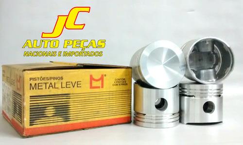 jg. pistão s/anéis 0,50 fusca/brasilia/kombi gasolina 1.5