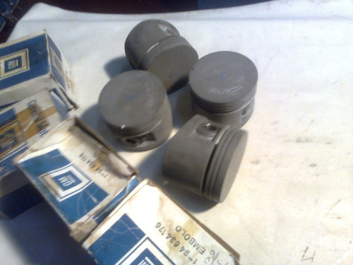 jg pistões embolos motor 1.4 chevette 83/87 gasol. 0,50 mm