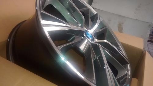 jg roda bmw série4 aro17 4/5 furo vectra onix megane fluence