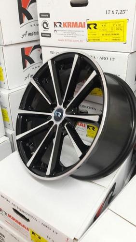 jg roda concava monaco aro17 4/5 furo civic corolla golf i30